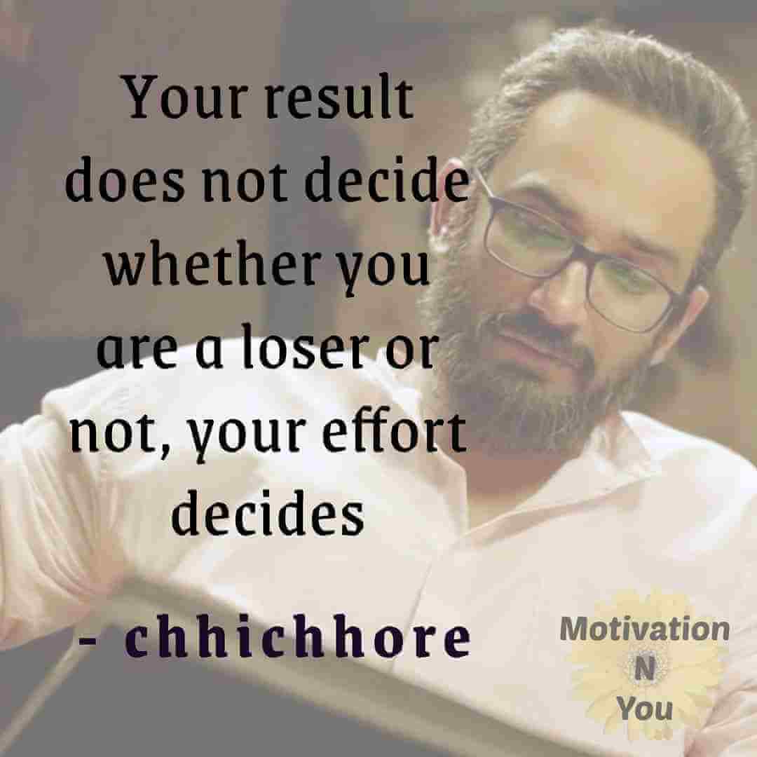 Motivational Quotes Chhichhore | Sushant Singh Rajpoot | Motivation N You