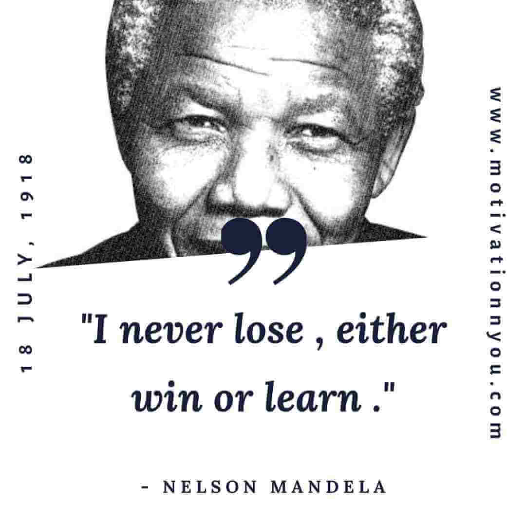 Motivational Quotes Nelson Mandela | Motivation N You