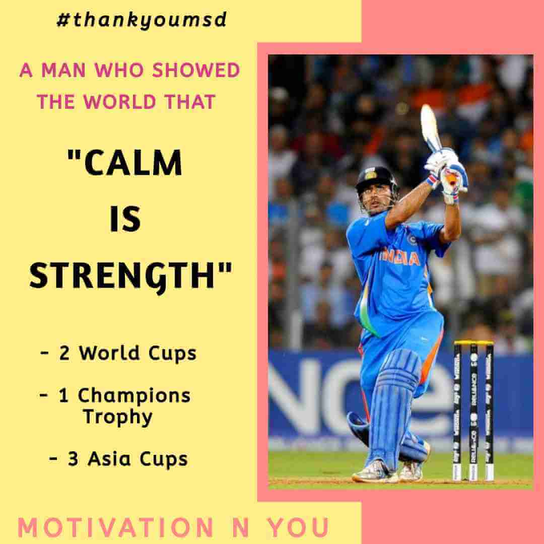 Motivational Quotes Mahender Singh Dhoni | Motivation N You