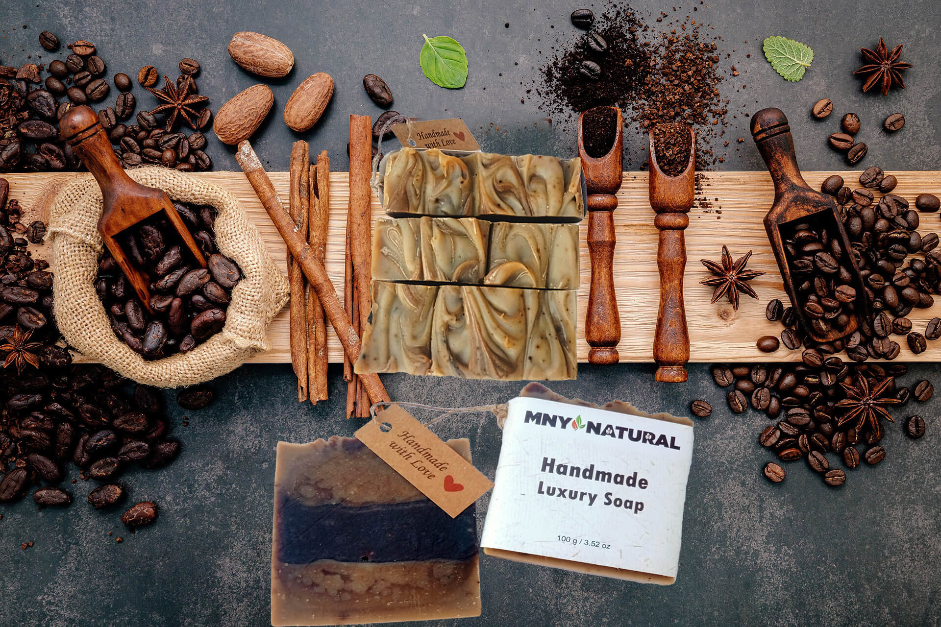 Skin Motivation - Coffee Shea Luxury Soap - MNY Natural